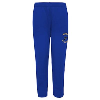 (Adidas Enforcer Fleece Sweatpant - St. Louis Blues - Youth)