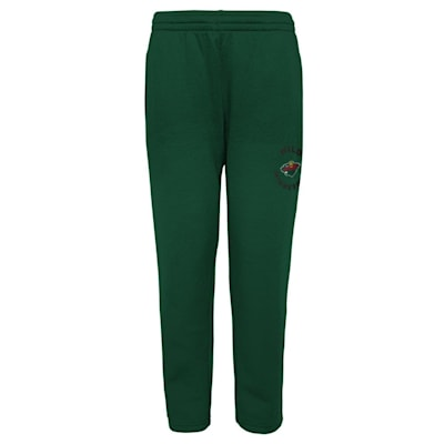 (Adidas Enforcer Fleece Sweatpant - Minnesota Wild - Youth)