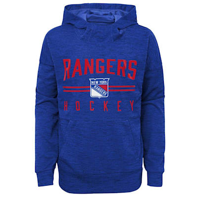 (Outerstuff Ice Squad Light Po Hoody - New York Rangers - Youth)