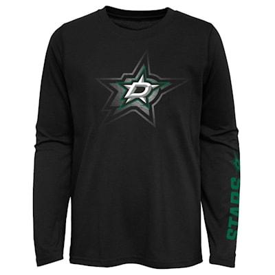 (Adidas Stop The Clock Long Sleeve Tee Shirt - Dallas Stars - Youth)