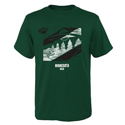 (Adidas Crossfit Tech Short Sleeve Tee Shirt - Minnesota Wild - Youth)