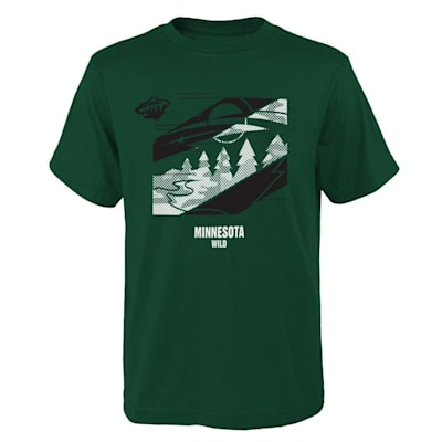 (Outerstuff Crossfit Tech Short Sleeve Tee Shirt - Minnesota Wild - Youth)