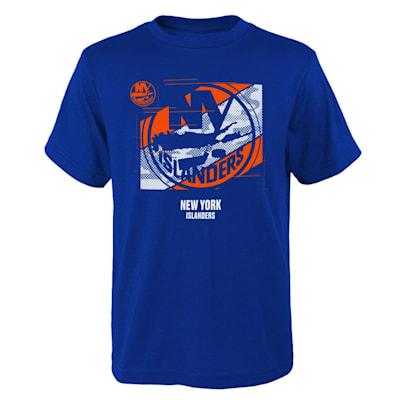 (Outerstuff Crossfit Tech Short Sleeve Tee Shirt - New York Islanders - Youth)