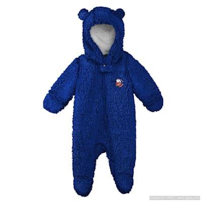 (Adidas Teddy Fleece Bunting Pram - New York Islanders - Newborn)