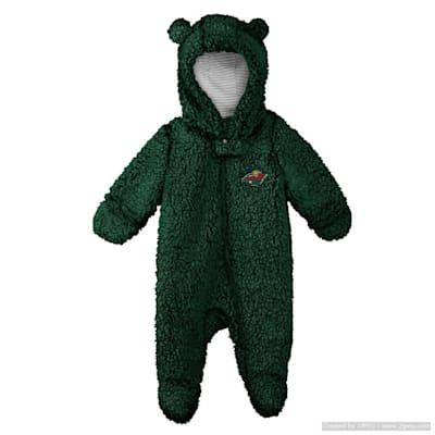 (Adidas Teddy Fleece Bunting Pram - Minnesota Wild - Newborn)