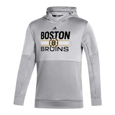 (Adidas Hockey Grind Pullover Hoodie - Boston Bruins - Adult)