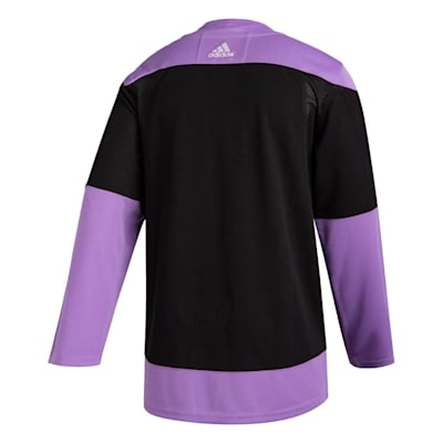 (Adidas Hockey Fight Cancer Authentic Practice Jersey - New York Rangers - Adult)