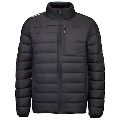 (CCM Team Quilted Winter Jacket - Adult)