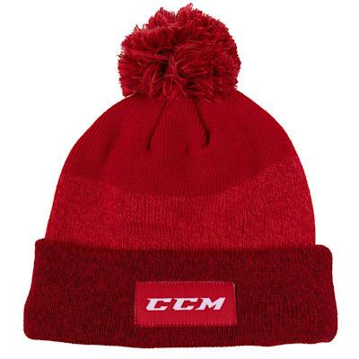 (CCM Team Cuffed Pom Knit 2.0 Hat - Youth)