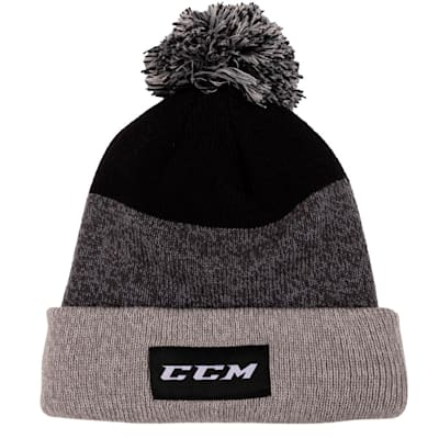 (CCM Team Cuffed Pom Knit 2.0 Hat - Adult)