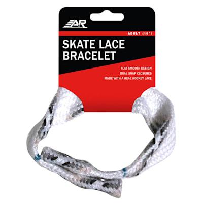 (Hockey Skate Lace Bracelet - Adult)