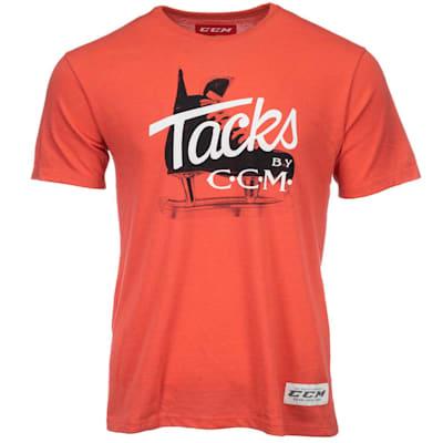 (CCM Classic Tacks Short Sleeve Tee Shirt - Adult)