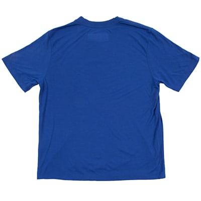 (CCM Preferred Short Sleeve Tee Shirt - Cobalt - Youth)