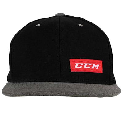 (CCM Icon Flat Brim Snapback Cap)