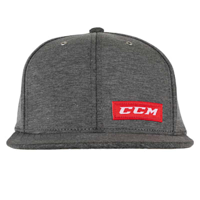 (CCM Icon Flat Brim Snapback Cap - Adult)