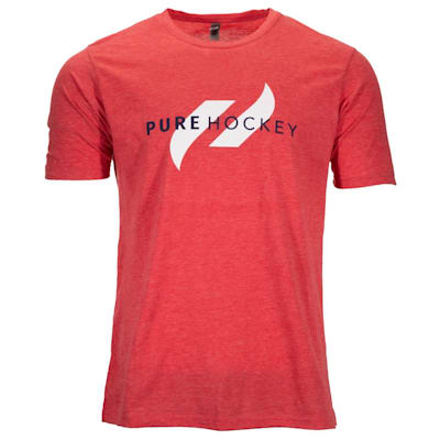 (Pure Hockey Classic Tee 2.0 - Red - Adult)