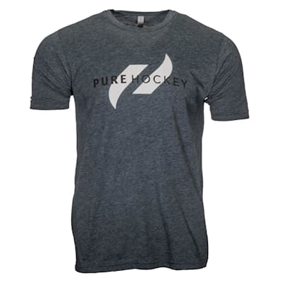 (Pure Hockey Classic Tee 2.0 - Denim - Adult)