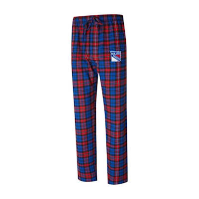 (Parkway Flannel Pant - New York Rangers - Adult)