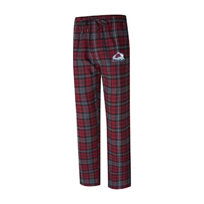 (Parkway Flannel Pant - Colorado Avalanche - Adult)