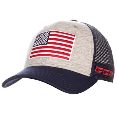 (CCM USA Flag Meshback Adjustable Cap)