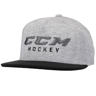 (CCM Hockey Pop Flatbrim Adjustable Cap - Adult)