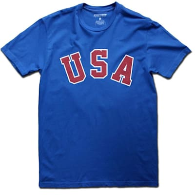 (Streaker Sports 1980 Jack O'Callahan Miracle USA Hockey Jersey Tee - Adult)