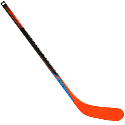 (Warrior Covert QRE 10 Mini Hockey Stick - Black/Orange)