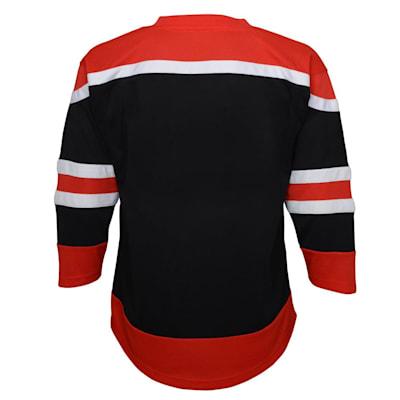 (Outerstuff Chicago Blackhawks Reverse Retro Replica Jersey - Youth)