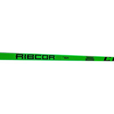 (CCM Ribcor 76K Grip Composite Hockey Stick - Junior)