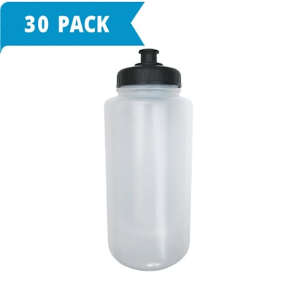(Clear Pull Top Water Bottles - 30-pack)