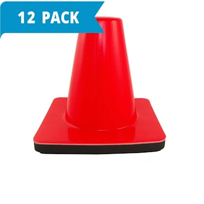 (Weighted Cone 6 Inch - 12-pack)