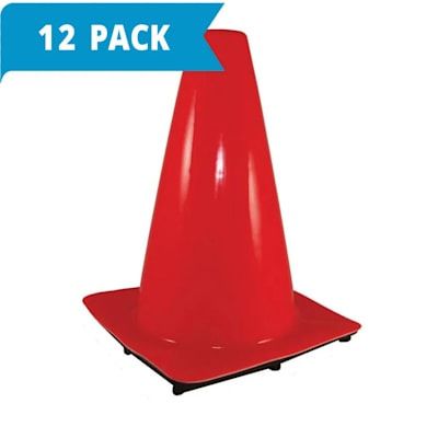 (Weighted Cone 12 Inch - 12-pack)