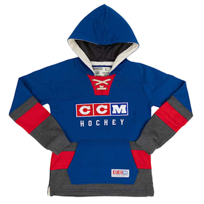 (CCM Classic Jersey Fleece Hoodie - Youth)