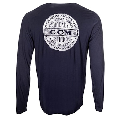(CCM Heritage Bottle Cap Long Sleeve Tee Shirt - Adult)