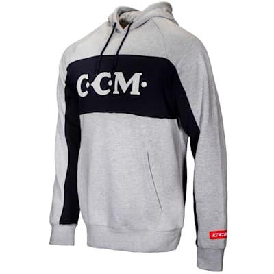 (CCM Vintage Logo Hoodie - Adult)