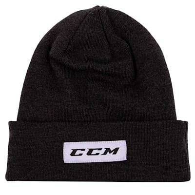 (CCM Go Dark Cuffed Knit Beanie - Adult)