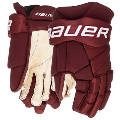 (Bauer Vapor Team Pro Hockey Gloves - Senior)