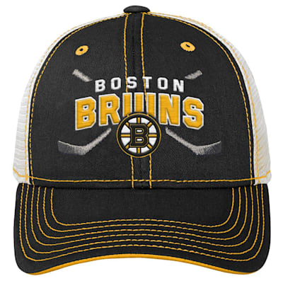 (Outerstuff Core Lockup Meshback Adjustable Hat - Boston Bruins - Youth)