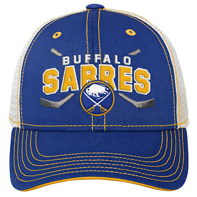 (Outerstuff Core Lockup Meshback Adjustable Hat - Buffalo Sabres - Youth)