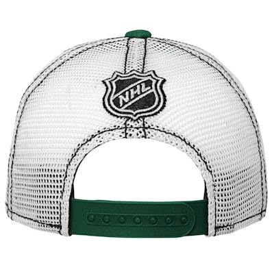 (Outerstuff Core Lockup Meshback Adjustable Hat - Minnesota Wild - Youth)