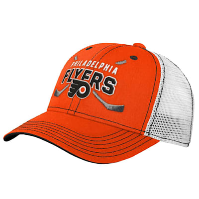(Outerstuff Core Lockup Meshback Adjustable Hat - Philadelphia Flyers - Youth)