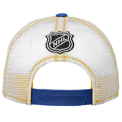 (Outerstuff Core Lockup Meshback Adjustable Hat - St. Louis Blues - Youth)