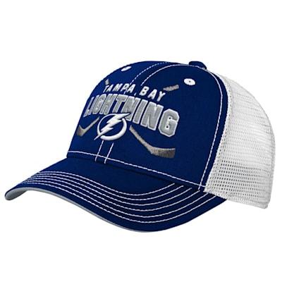 (Outerstuff Core Lockup Meshback Adjustable Hat - Tampa Bay Lightning - Youth)
