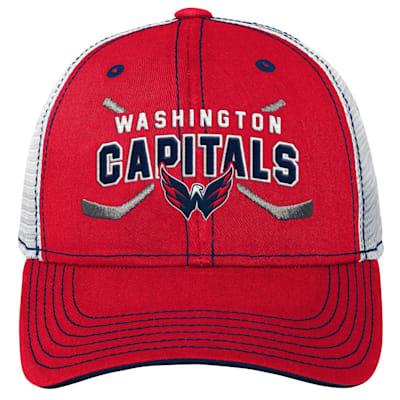(Outerstuff Core Lockup Meshback Adjustable Hat - Washington Capitals - Youth)