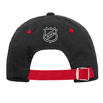 (Outerstuff Team Slouch Adjustable Hat – Chicago Blackhawks - Youth)