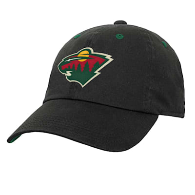 (Outerstuff Team Slouch Adjustable Hat – Minnesota Wild - Youth)