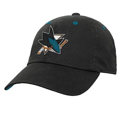 (Outerstuff Team Slouch Adjustable Hat – San Jose Sharks - Youth)