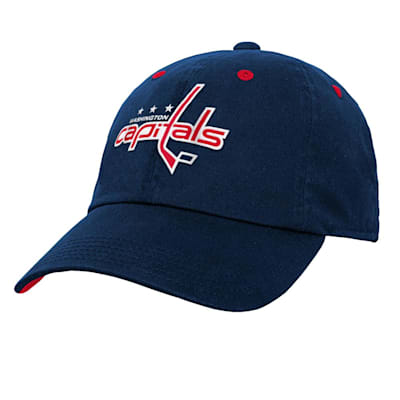 (Outerstuff Team Slouch Adjustable Hat – Washington Capitals - Youth)