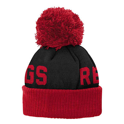 (Adidas Jacquard Cuff Pom Knit – Detroit Red Wings - Youth)