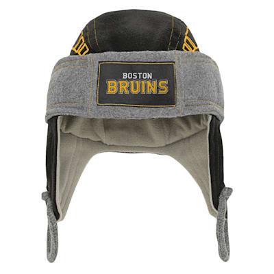 (Outerstuff Kids Fleece Hockey Helmet – Boston Bruins - Youth)